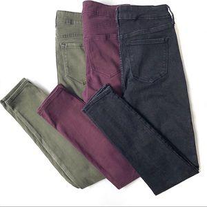 Old Navy Rockstar Jeans Lot of 3